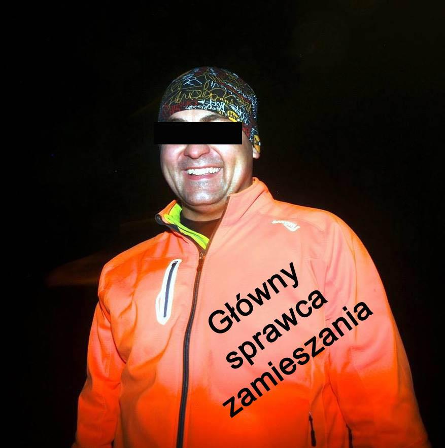 główny sprawca zamieszania wieczorne bieganie w Szczecinie - Wojtek