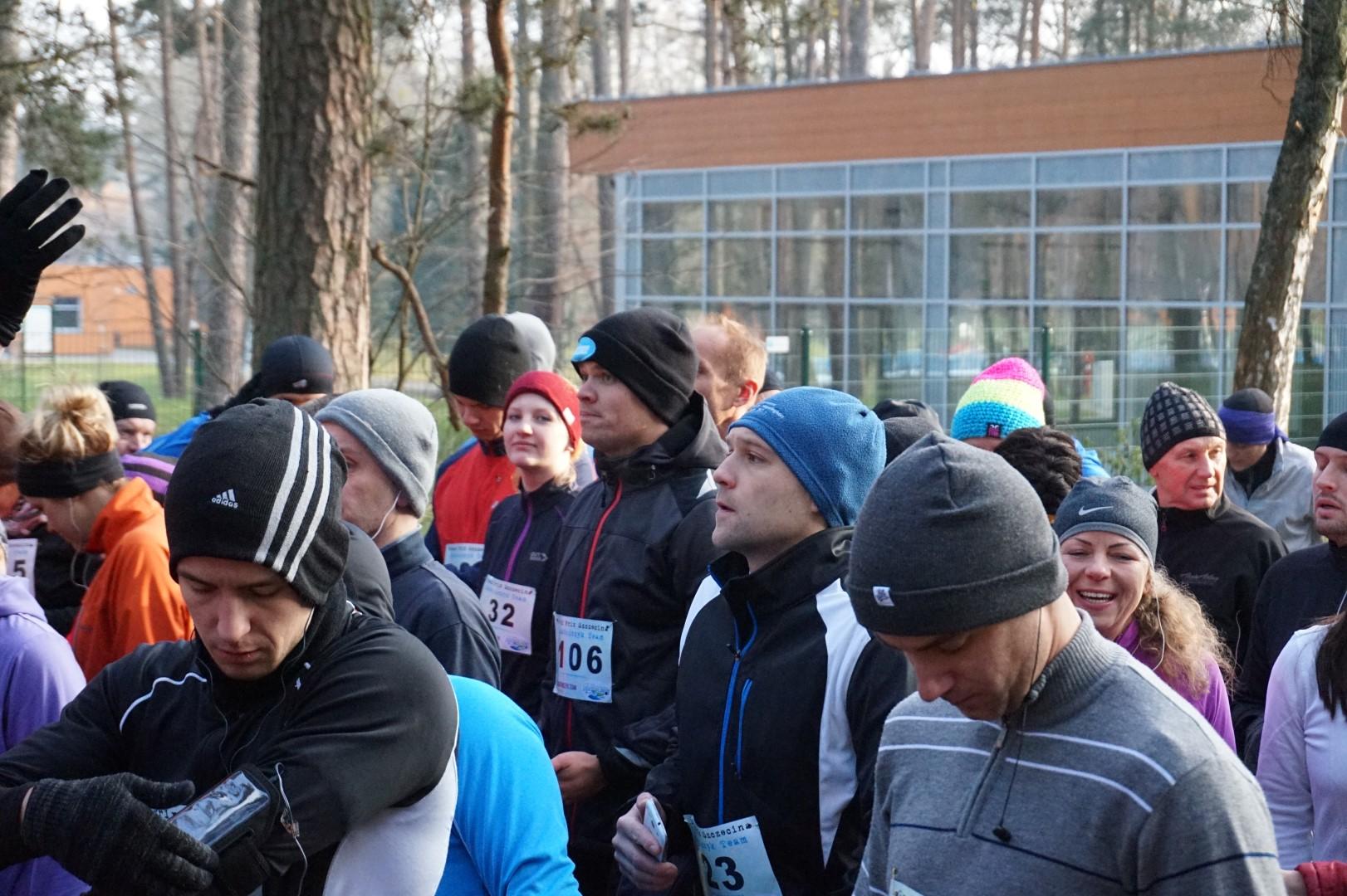 zdjęcie ze startu grand prix szczecin maratończyk team