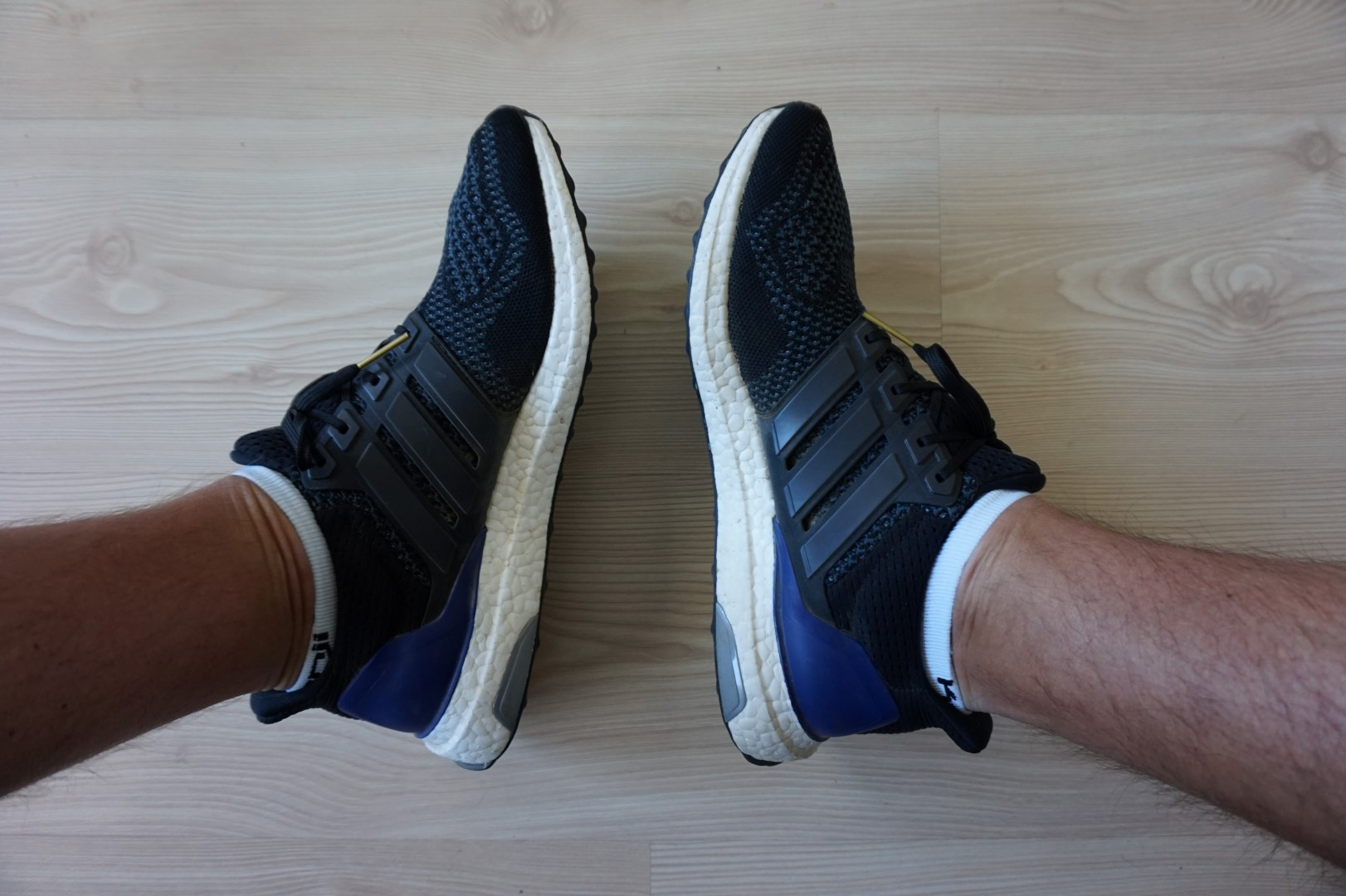 adidas ultra boost na stopie