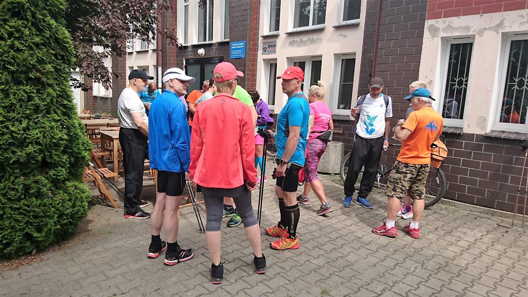 ćwierćmaraton bociana przed startem